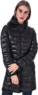 Brave Soul Womens Everett Padded Jacket in Black.