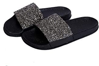 Hush Berry Sparkle Stone Flip Flops/Slippers for Girls/Women