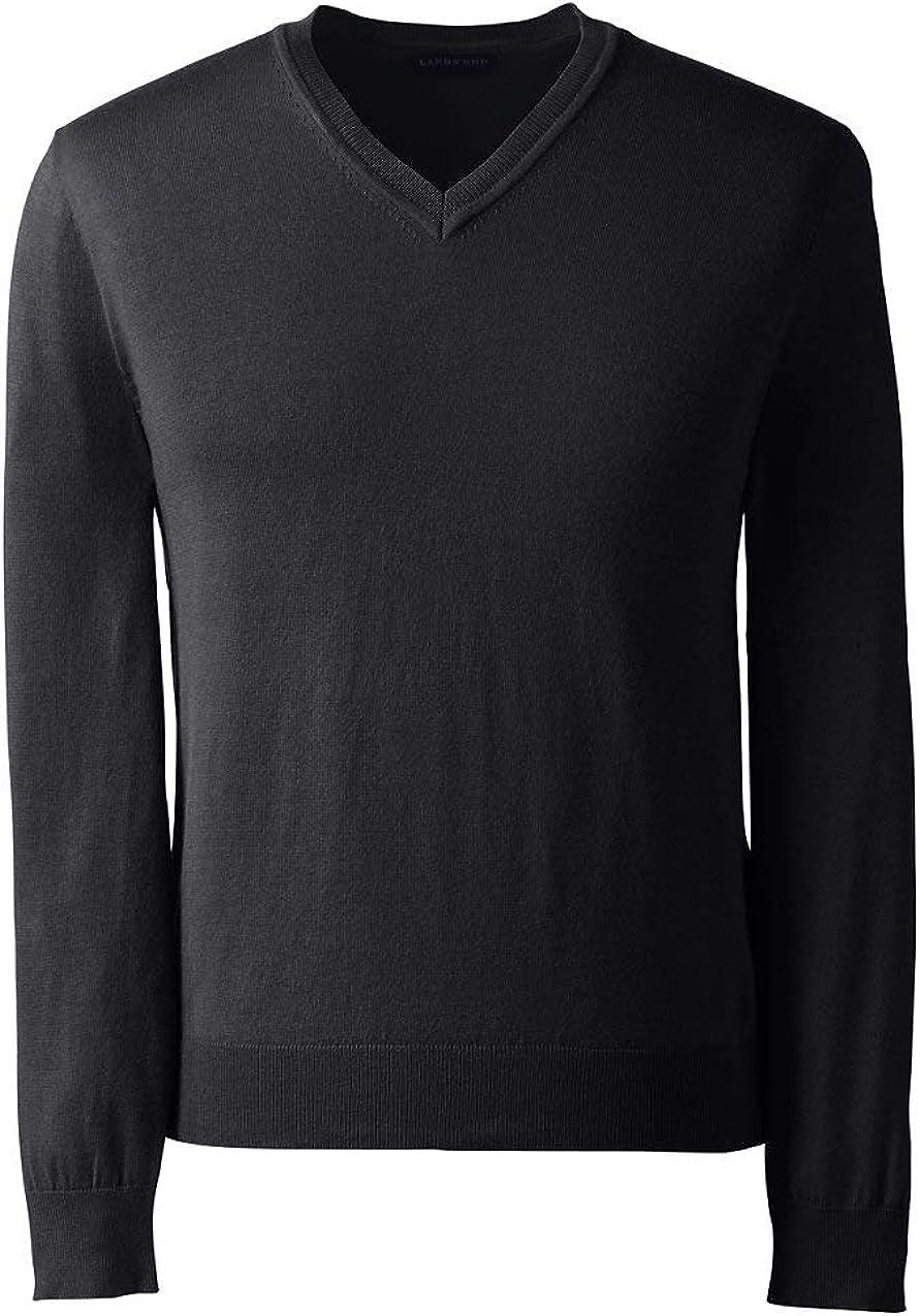 Lands' End Men's Performance V-Neck Sweater