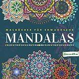 Mandala: Malbücher für Erwachsene: Blumen Mandala Malbuch Achtsamkeit & Stressabbau: 60 Schöne Blumen mandalas zum Ausmalen | Erwachsenen Mandala ... Stress Geschenke-Entspannung Geschenk