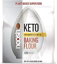 NOOSH KETO 1 to 1 All Purpose Almond Flour with Almond Oil powder & MCT Oil powder 1.15 lb - Naturally Sourced Ingredients, Vegan, Gluten Free, Non GMO, Kosher - Made from Whole California Almonds