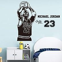 Baloncesto The Shoot 23 Michael Jordan Wallpaper Decoración del hogar Etiqueta de la pared para sala de estar Habitación de los niños Decoración Murales Poster58 * 120cm