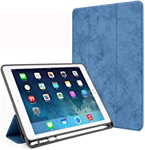 JQSTY iPad Mini 5 4 3 2Case, [Corner/Bumper Protection] Smart Cover Case Soft TPU Bumper Auto Wake/Sleep Function Compatible Apple 7.9 inch iPad Mini 1st,2nd,3rd,4th Generation