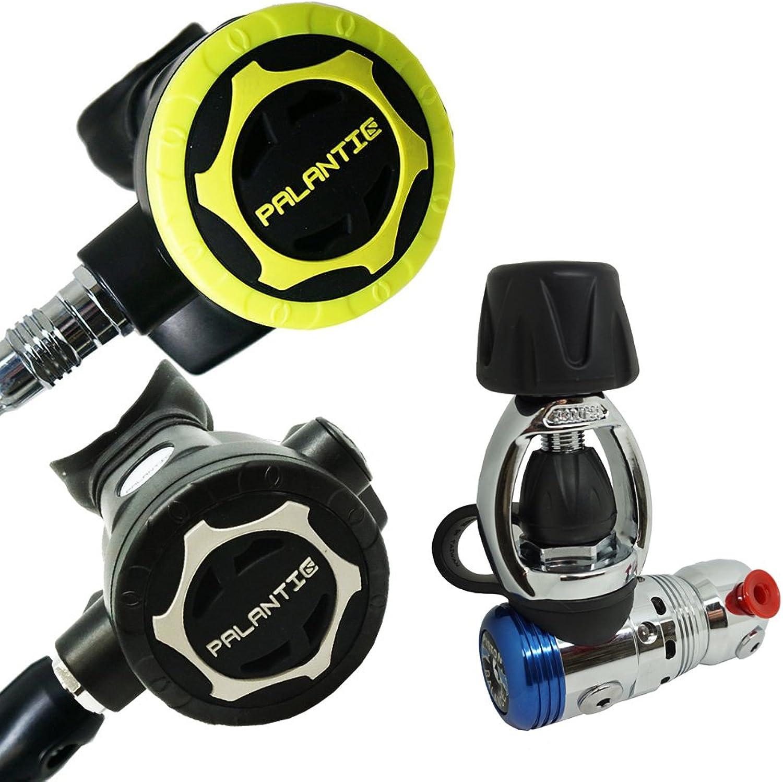 Scuba Choice Diving Dive Palantic AS103 YOKE Regulator & Octopus Combo  AS207
