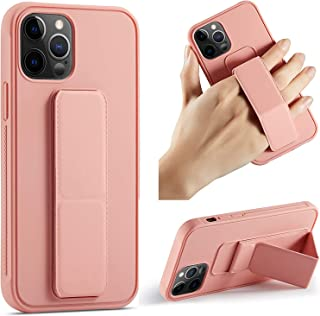 Case/Cover Compatible with iPhone 12 | Pro|Max| (6.1/6.7) inch Case, Slim Hard Silicone Gel Rubber Premium TPU Fold-able M...