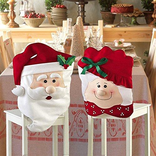 60 cm statuetta decorativa di Babbo Natale ca Pupazzo di Babbo Natale 4 diversi modelli a scelta Joseph