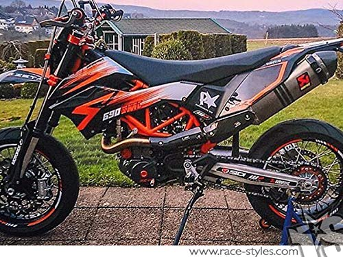 690 SMC SMC/R Enduro (08-17) | Factory DEKOR Decals KIT Aufkleber Graphics