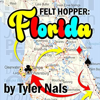 Felt Hopper: Florida                   By:                                                                                                                                 Tyler Nals                               Narrated by:                                                                                                                                 Andy Harrington                      Length: 4 hrs and 45 mins     1 rating     Overall 4.0