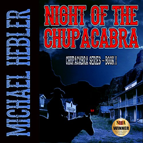 Night of the Chupacabra audiobook cover art