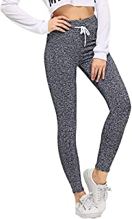 Gofodn Yoga Pants Womens High Waist Leggings Ladies Trousers Sports Gym Yoga Workout Fitness Athletic Pants