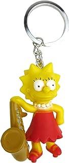 Fox The Simpsons Lisa 3D PVC Key Ring