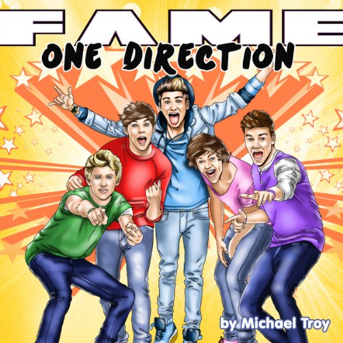 Fame: One Direction audiobook cover art