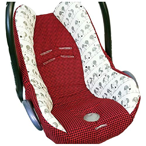 Atelier MiaMia - MaxiCosi Babyschalenbezug, Ersatzbezug, Sommerbezug Männchen (Sonnendach)