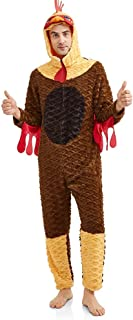 Rule The Roost Men's Rooster Union Suit Pajamas