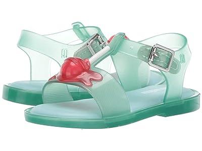 Mini Melissa Mini Mar Sandal II (Toddler/Little Kid) (Light Green Jelly) Girls Shoes