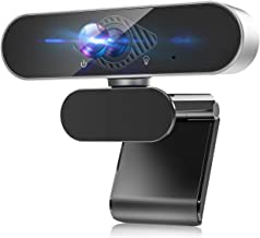 HD Webcam with Noise Cancelation Microphone, 1080P PC Webcam Laptop Plug and Play USB Webcam Streaming Computer Web Camera...