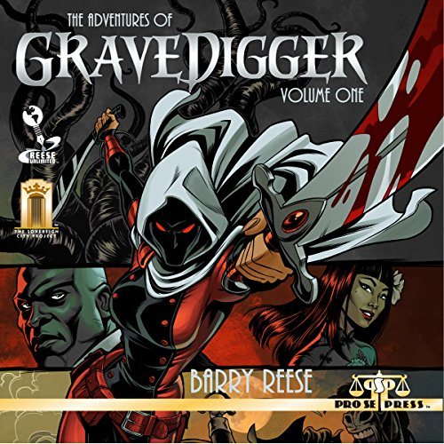 The Adventures of Gravedigger, Volume One cover art