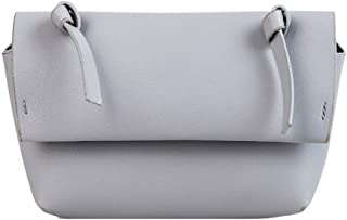 "Waymine Women's Wild Shoulder Bag Solid Casual PU Square Phone Messenger Bag(7.48(L) x2.76(W) x5.12(H)"")"