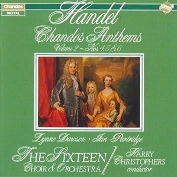 HANDEL: Chandos Anthems, Vol. 2