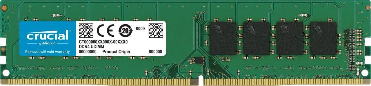 Crucial RAM CT4G4DFS6266 4 GB DDR4 2666 MHz CL19 Memoria de Escritorio