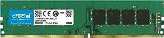 Crucial 美光4GB Single DDR4 2400 MT/s (PC4-192000) DIMM 288-Pin内存 - CT4G4DFS824A