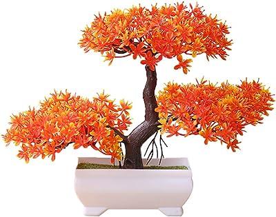 Simulation Fruit Pomegranate Plants Bonsai Artificial Display Home Decoration