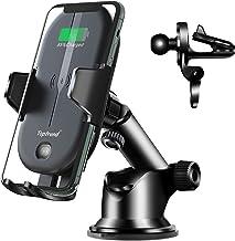 سوار شارژر بی سیم اتومبیل ، شارژر سریع ماشین بی سیم 15W Qi Toptrend ، شارژر نگهدارنده تلفن بی سیم اتومبیل برای iPhone ، Samsung ، LG و غیره