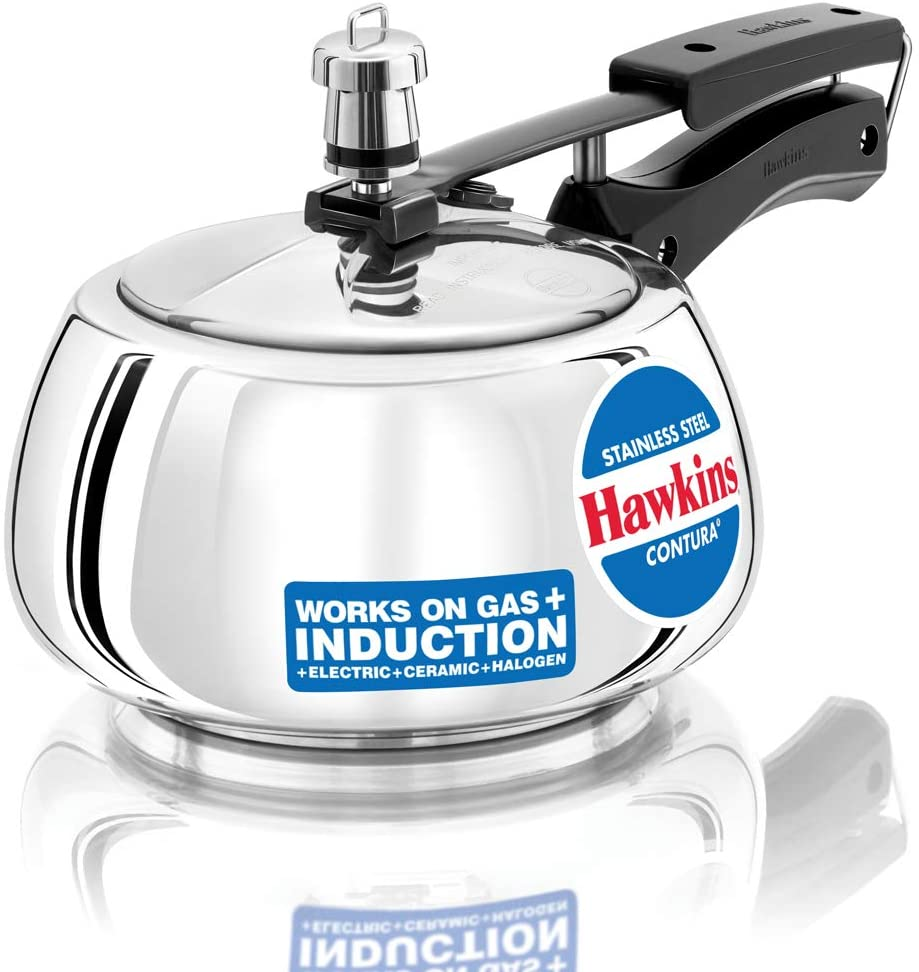 Hawkins Purchase SSC20 stainless favorite steel pressure cooker Silver