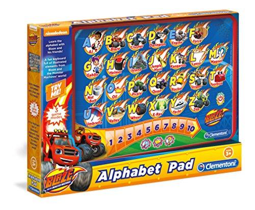 Clementoni 61806 Blaze Lettres de l'alphabet Touch Pad