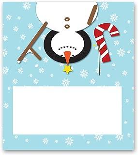 snowman place cards