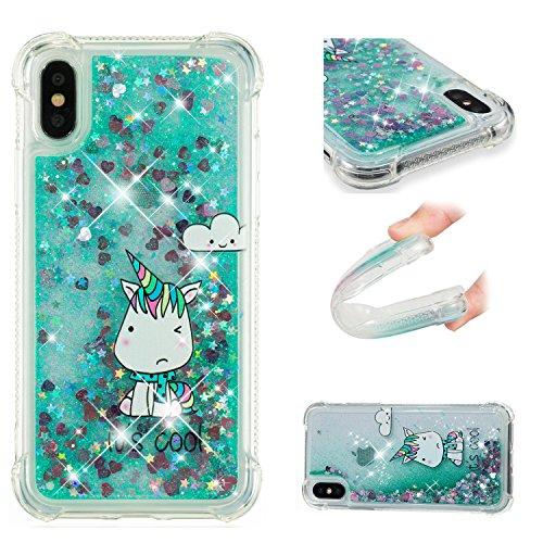 Eazyhurry Funda para iPhone SE, iPhone 5S, iPhone 5, transparente, flexible, brillante, flotante, delgada, protectora, antiarañazos, para iPhone 5/5S/SE (Monster)