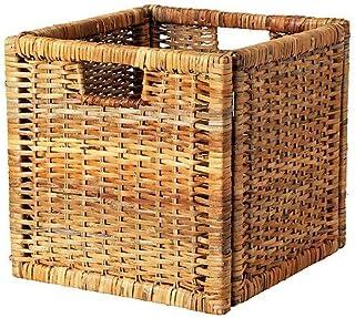 Ikea 5054186087633 BRANÄS Panier rotin, Brown, 32 x 34 x 32 cm