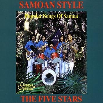Samoan Style (Popular Songs Of Samoa)