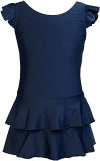 アスナロ(水着) スクール水着 女子 ワンピース フリル使い スク水 スイムウェア150 紺