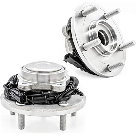 Dodge Grand Caravan Ram C//V Volkswagen Routan Wheel Hub w//5 Lugs MotorbyMotor 512493 Rear Wheel Bearing and Hub Assembly Replacement for Chrysler Town /& Country