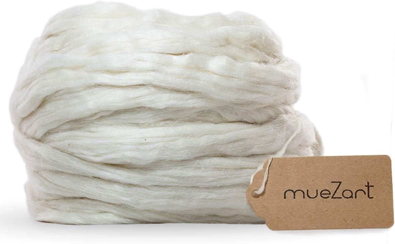 Muezart – Dallas Mall Eri Silk Fiber oz Over item handling ☆ 17.5 Natural Color A
