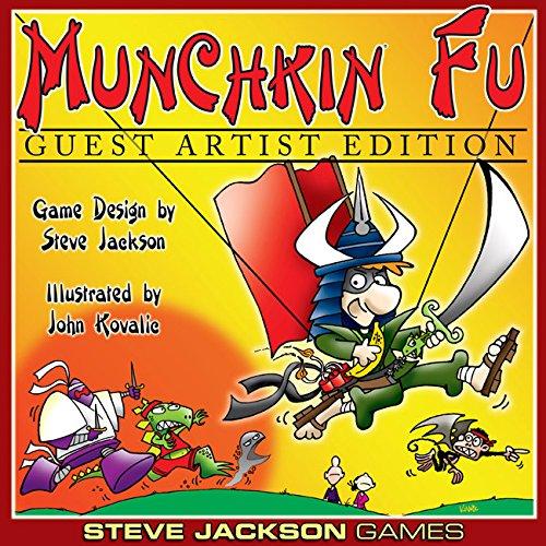 Steve Jackson Games SJG01517 Kartenspiel Munchkin Fu Guest Artist Edition
