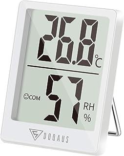 DOQAUS Mini Thermomètre Intérieur, Hygromètre Intérieur de Haute Précision,..