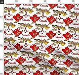 Kanada, Kanadisch, Patriotisch, Biber, Ahornblatt Stoffe -