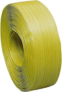 積水樹脂 PPバンド Kタイプ 15.5mm×1000M 黄 1ケース(5巻入)