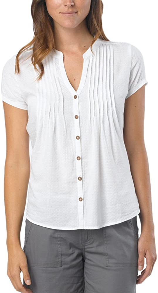 prAna Women's Ellie Free shipping anywhere in the nation Large White Super beauty product restock quality top Top