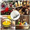 Stoppini Jespeker 100pcs 20,3 cm (20 cm) per realizzare candele con base adesivi e Center dispositivo #2