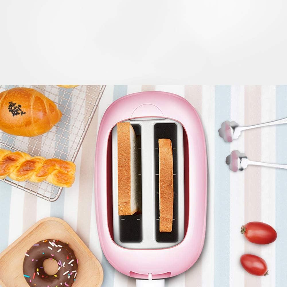 CXD Toaster Scheiben Mint Röstgrad Anzeige Auftauen Brötchen Aufsatz Krümel Schublade Brotscheiben Zentrierung Bräunungsstufen Herausziehbare Krümelschublade,1 2