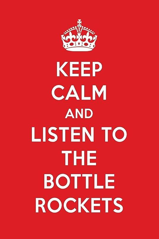 火山学者通行人薬を飲むKeep Calm And Listen To The Bottle Rockets: The Bottle Rockets Designer Notebook