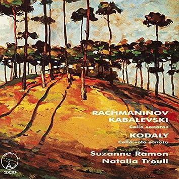 Rachmaninov, Kabalevski Cello Sonatas, Kodaly - Cello Solo Sonata