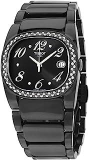 Tissot T-Moments Quartz Movement Black Dial Ladies Watch T0093101105702