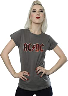 Women's Raw Distressed Logo T-Shirt