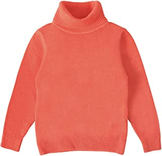 Bfsports Baby Girls Long Sleeve Knitted Cherry Pullover Sweater Toddler Kids Crew Neck Clothes Top