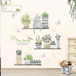 Sencillo Vida Cactus Pegatinas de pared vinilo adhesivo