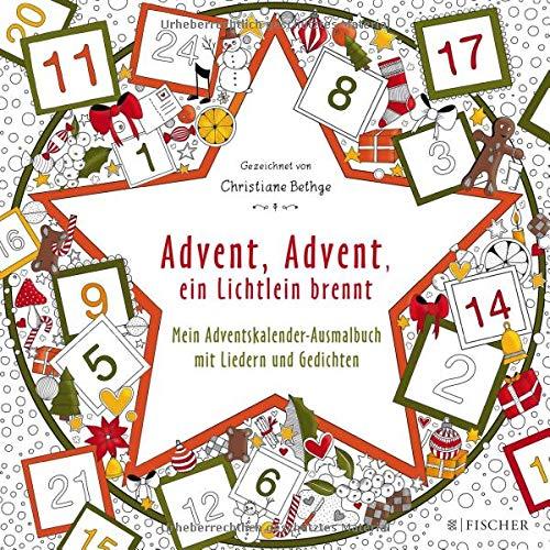 Buchseite und Rezensionen zu 'Advent, Advent, ein Lichtlein brennt' von Christiane Bethge